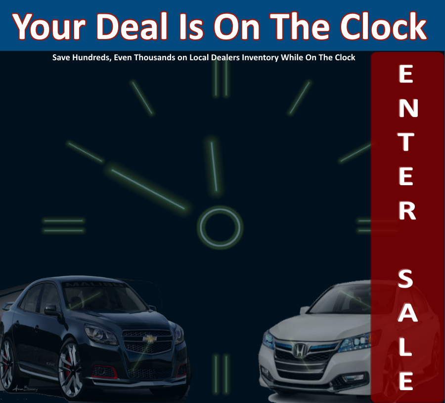 CarsOnTheClock.com Middle Tennessee Online Event Sale.. Your Deal is waiting